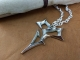 Sterling Silver Final Fantasy X Tidus Zanarkand Abes Necklace
