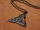 Large Viking Valknut Warrior Pendant