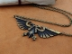 Warhammer 40K Emperor of Mankind Ancient Imperial Aquila Eagle Necklace Pendant