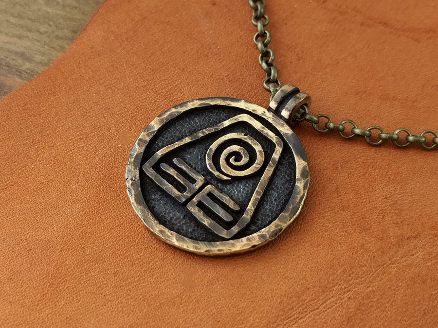 Avatar Earth Kingdom Element Pendant