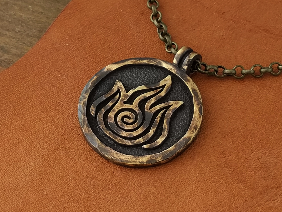 Avatar Fire Nation Element Necklace