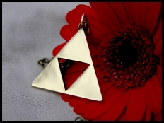 The Legend of Zelda Triforce Pendant