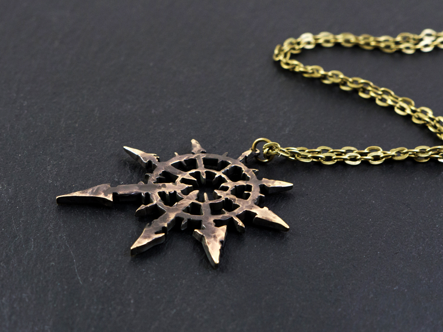Large warhammer 40k chaos star ancient pendant large warhammer 40k chaos star ancient pendant aloadofball Gallery