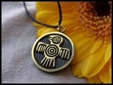 Mayan Bird Pendant