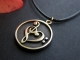 Treble & Bass Clef Heart Pendant