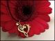 Treble & Bass Clef Heart Pendant