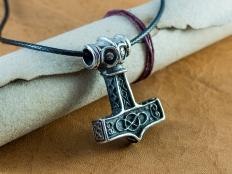 Silver Thor's Hammer - Mjölnir Pendant