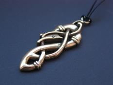 Viking Urnes Style Pendant
