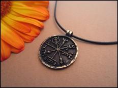 Viking Compass - Vegvisir Pendant