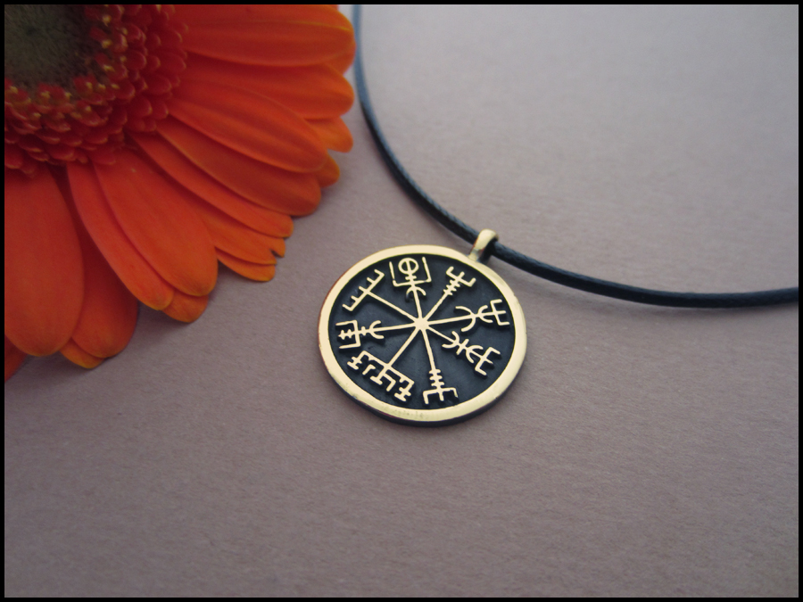 Viking Compass Vegvisir - A Symbol from ancient Iceland