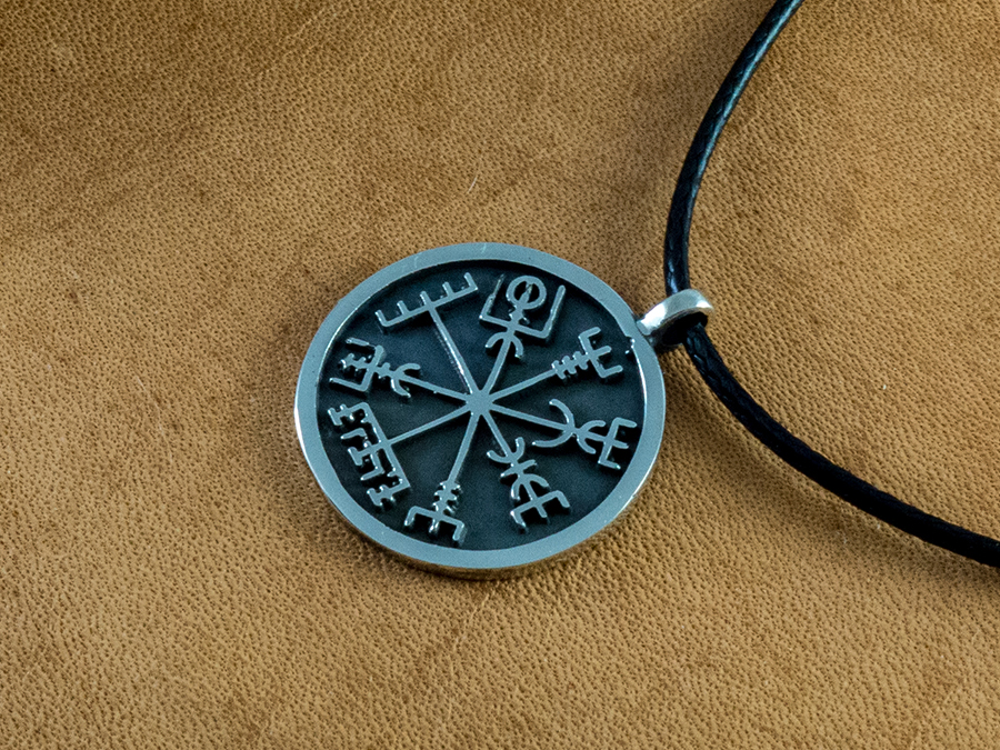 Viking Compass Vegvisir A Symbol From Ancient Iceland This Symbol