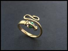 Adjustable Snake Ring