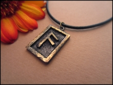 Anzus Wisdom Rune Pendant