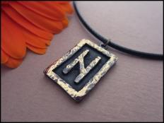 Hagalaz  Rune Pendant - Overcome