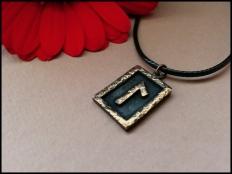 Laguz  Water Rune Pendant