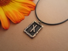 Nauthiz Rune Pendant - Power of will