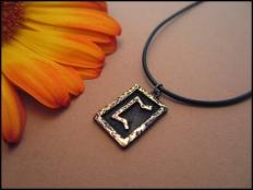 Perthro Rune Pendant - Woman