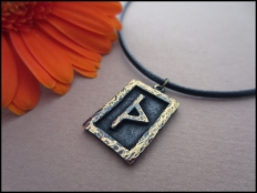 Thurisaz  Rune Pendant - The Thorn