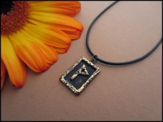 Wunjo Rune Pendant - Joy